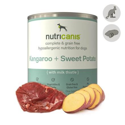 Hypoallergenic wet dog food: 800g Kangaroo & Sweet Potato