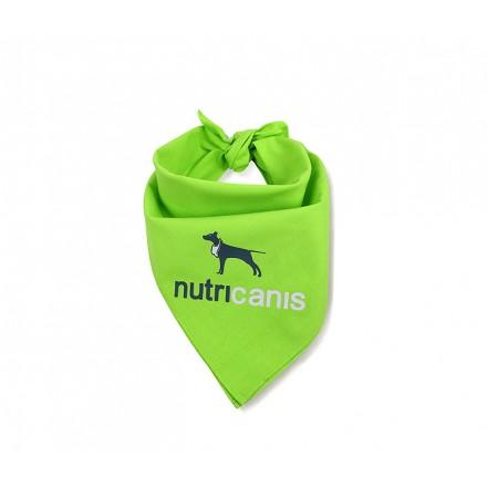Bandana pour chien nutricanis, en coton, vert