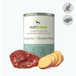 Hypoallergenic wet dog food: 400g Kangaroo & Sweet Potato